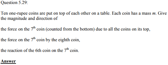 Physics Numericals Class 11 Chapter 5 88