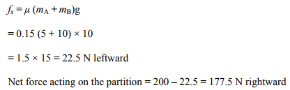 Physics Numericals Class 11 Chapter 5 107