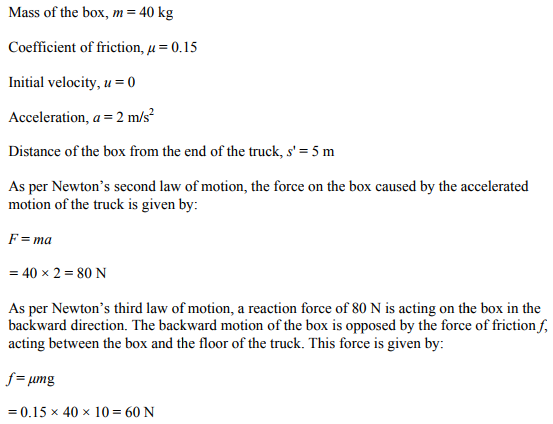 Physics Numericals Class 11 Chapter 5 113