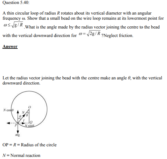 Physics Numericals Class 11 Chapter 5 125