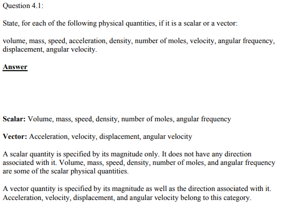 Physics Numericals Class 11 Chapter 4 1