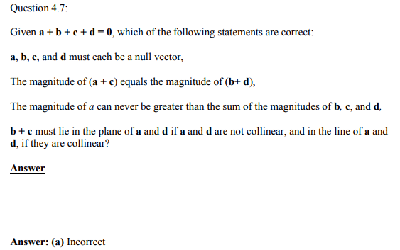 Physics Numericals Class 11 Chapter 4 18