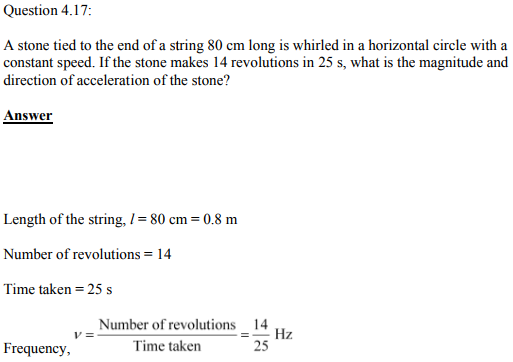 Physics Numericals Class 11 Chapter 4 42