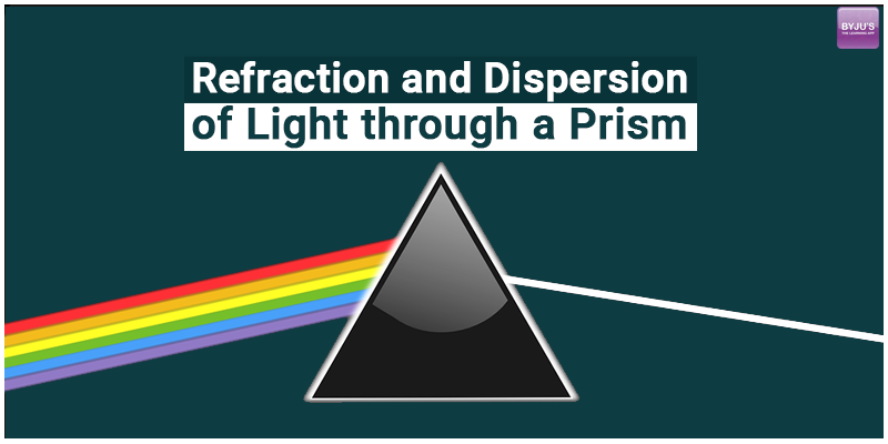 Refraction and Dispersion of Light through a Prism