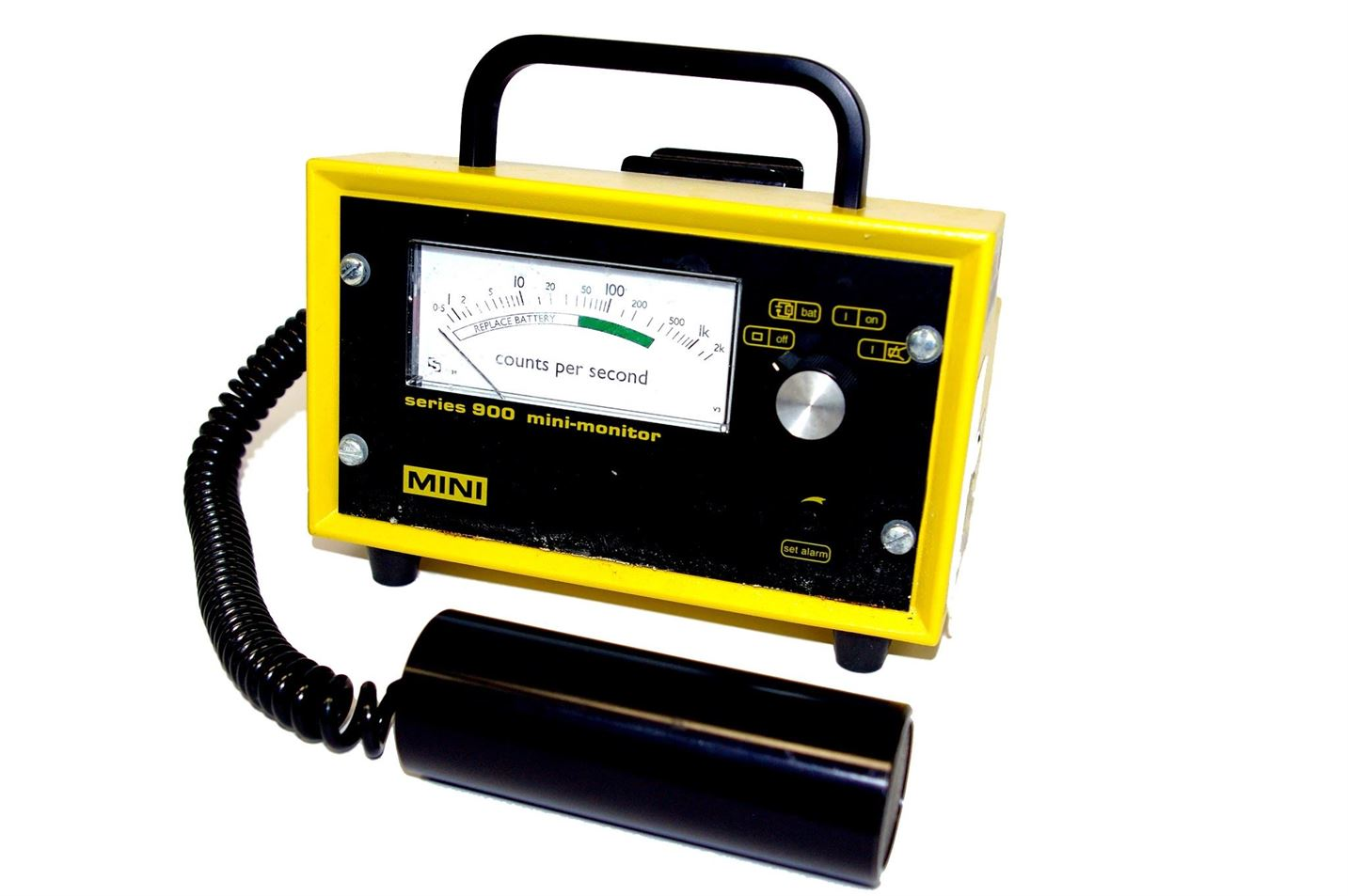 Geiger Counter Principle Units And Types Of Diagram
