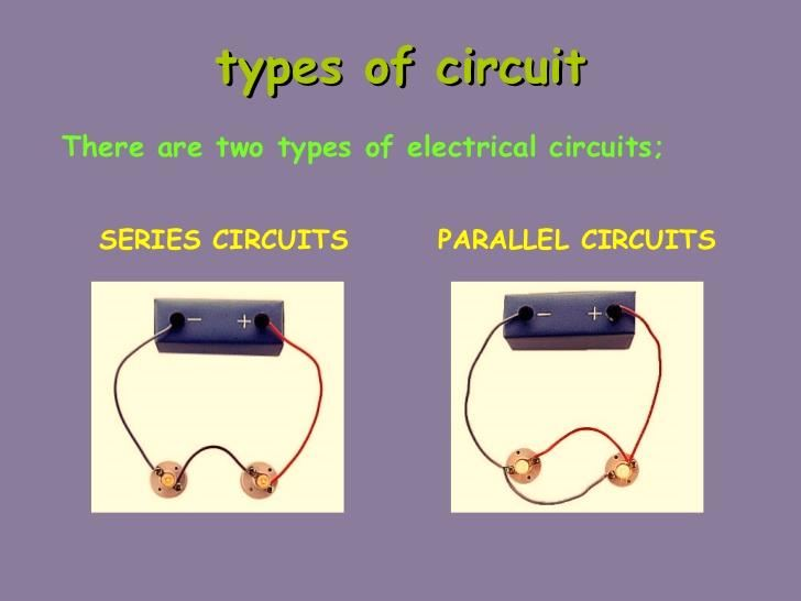 Types Of Circuits Parallel Circuit Series Circuit Properties Variances