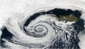 Disaster Management - Satellites Capture of Tropical cyclones