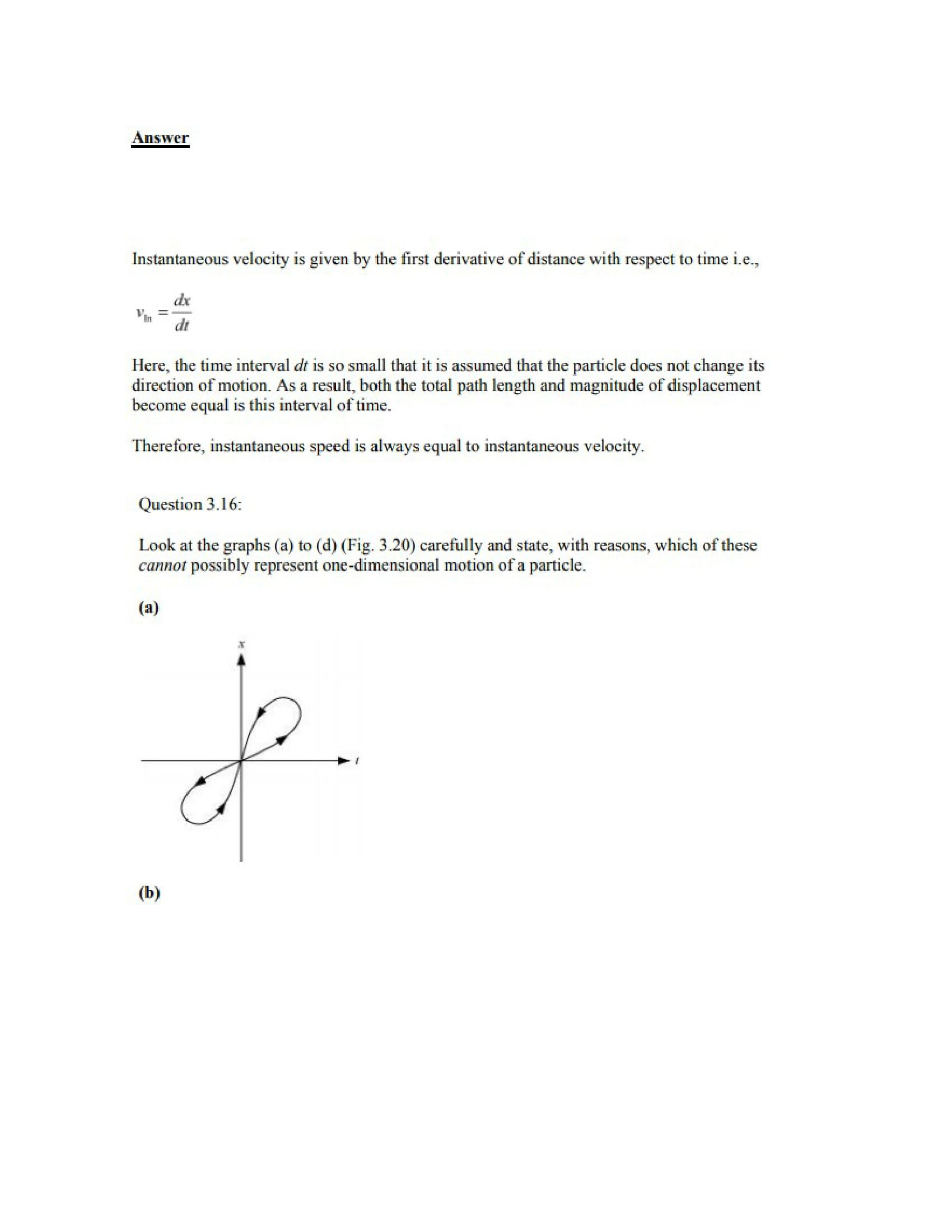 Physics Numericals Class 11 Chapter 3 20
