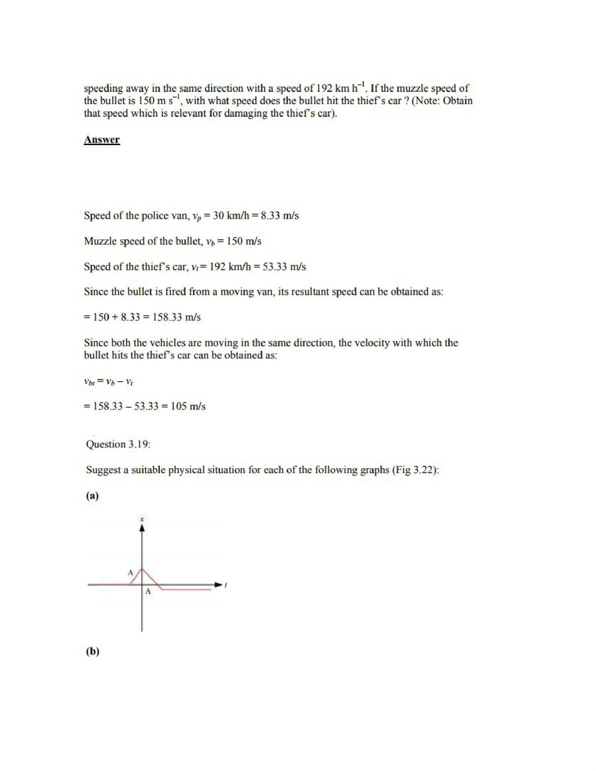 Physics Numericals Class 11 Chapter 3 24