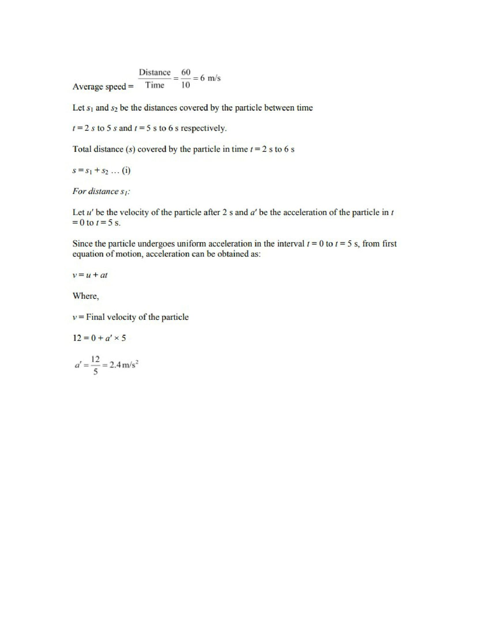 Physics Numericals Class 11 Chapter 3 40