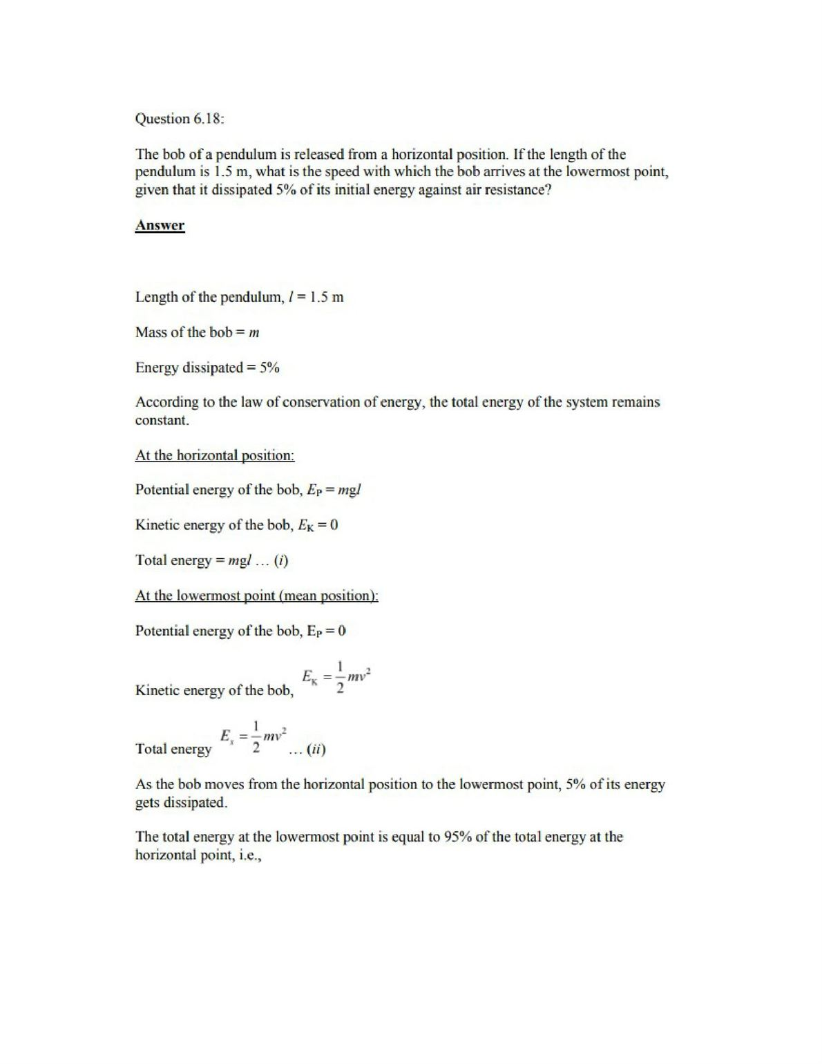 Physics Numericals Class 11 Chapter 6 23