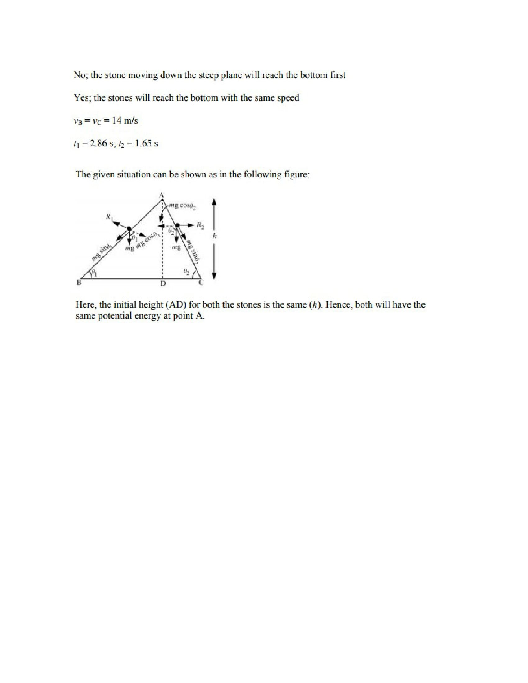 Physics Numericals Class 11 Chapter 6 32