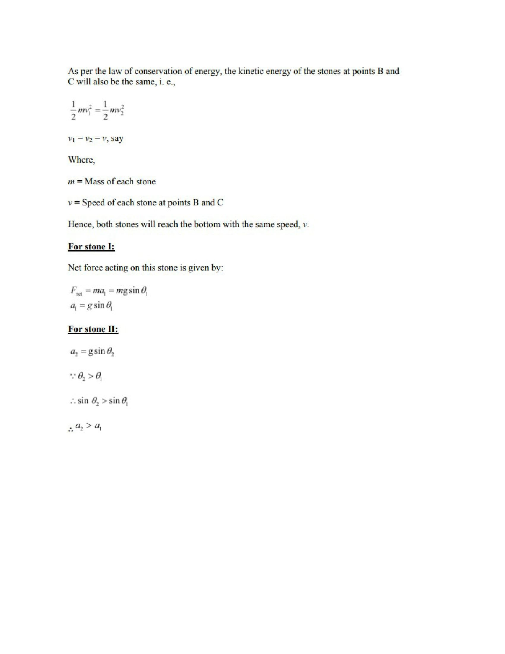 Physics Numericals Class 11 Chapter 6 33