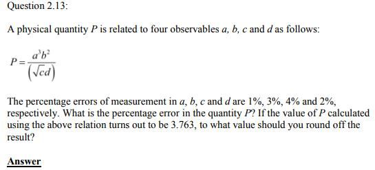 Physics Numericals Class 11  Chapter 2 29