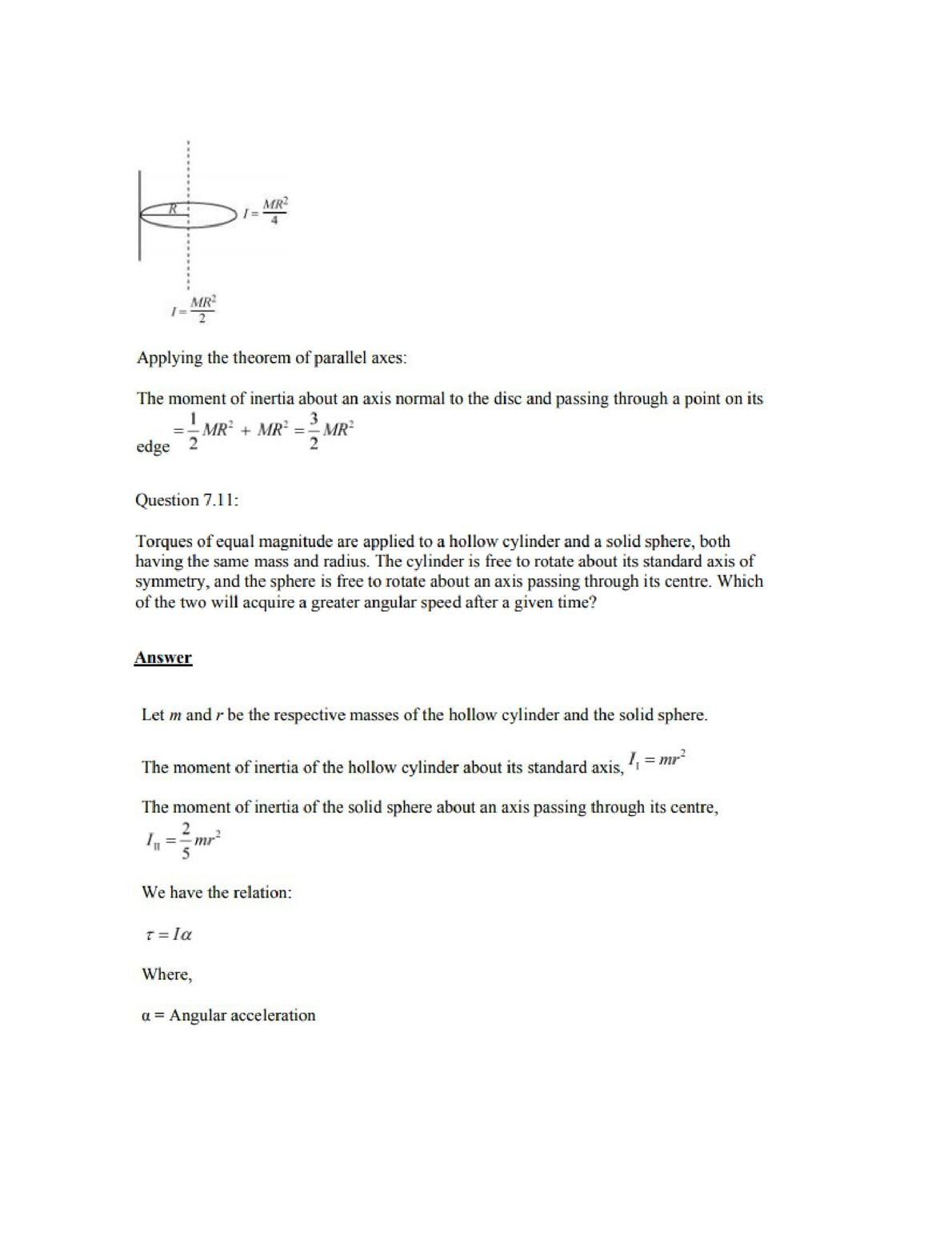 Physics Numericals Class 11 Chapter 7 12