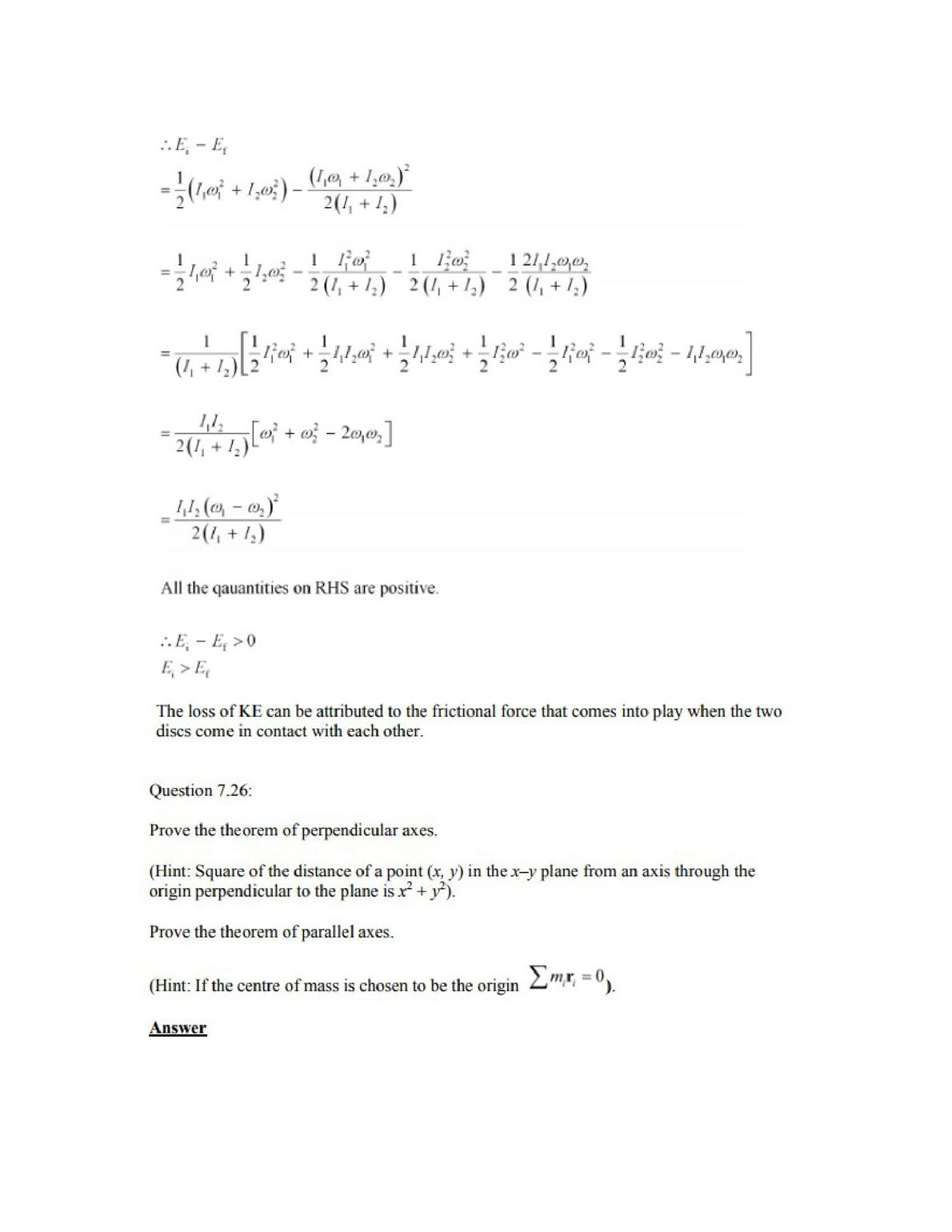 Physics Numericals Class 11 Chapter 7 40