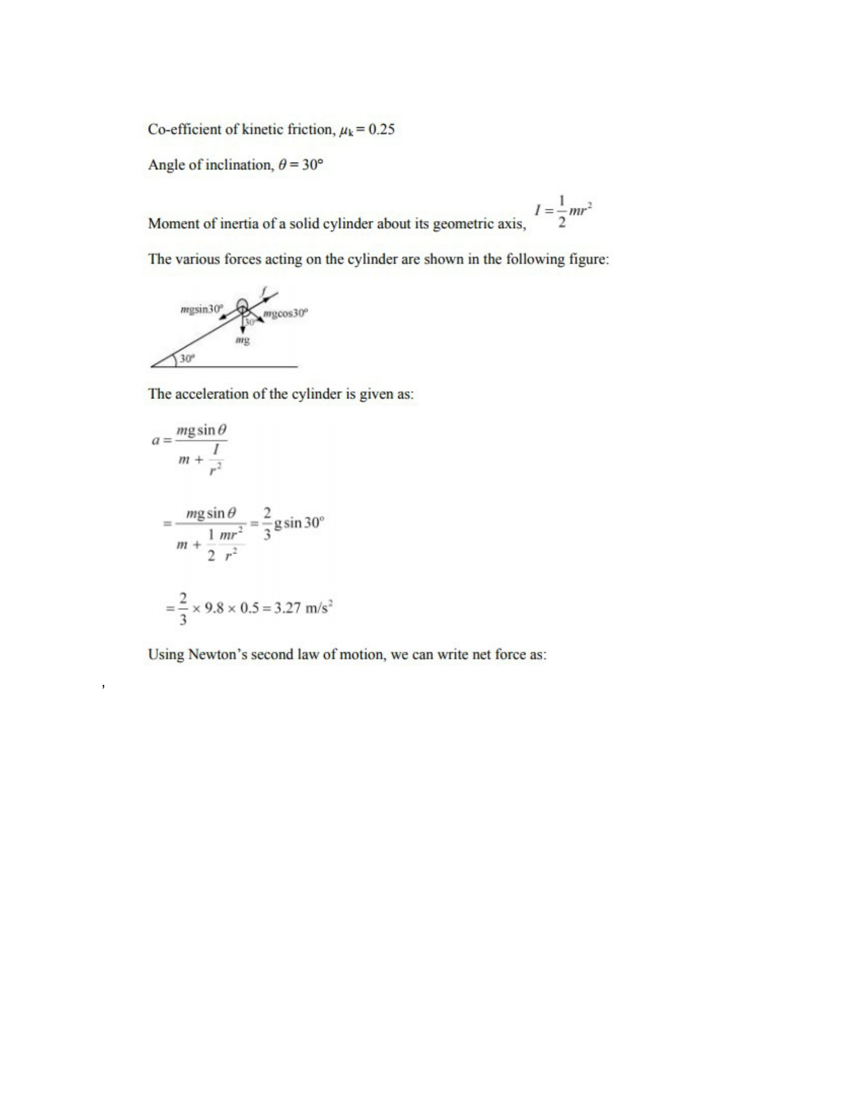 Physics Numericals Class 11 Chapter 7 53