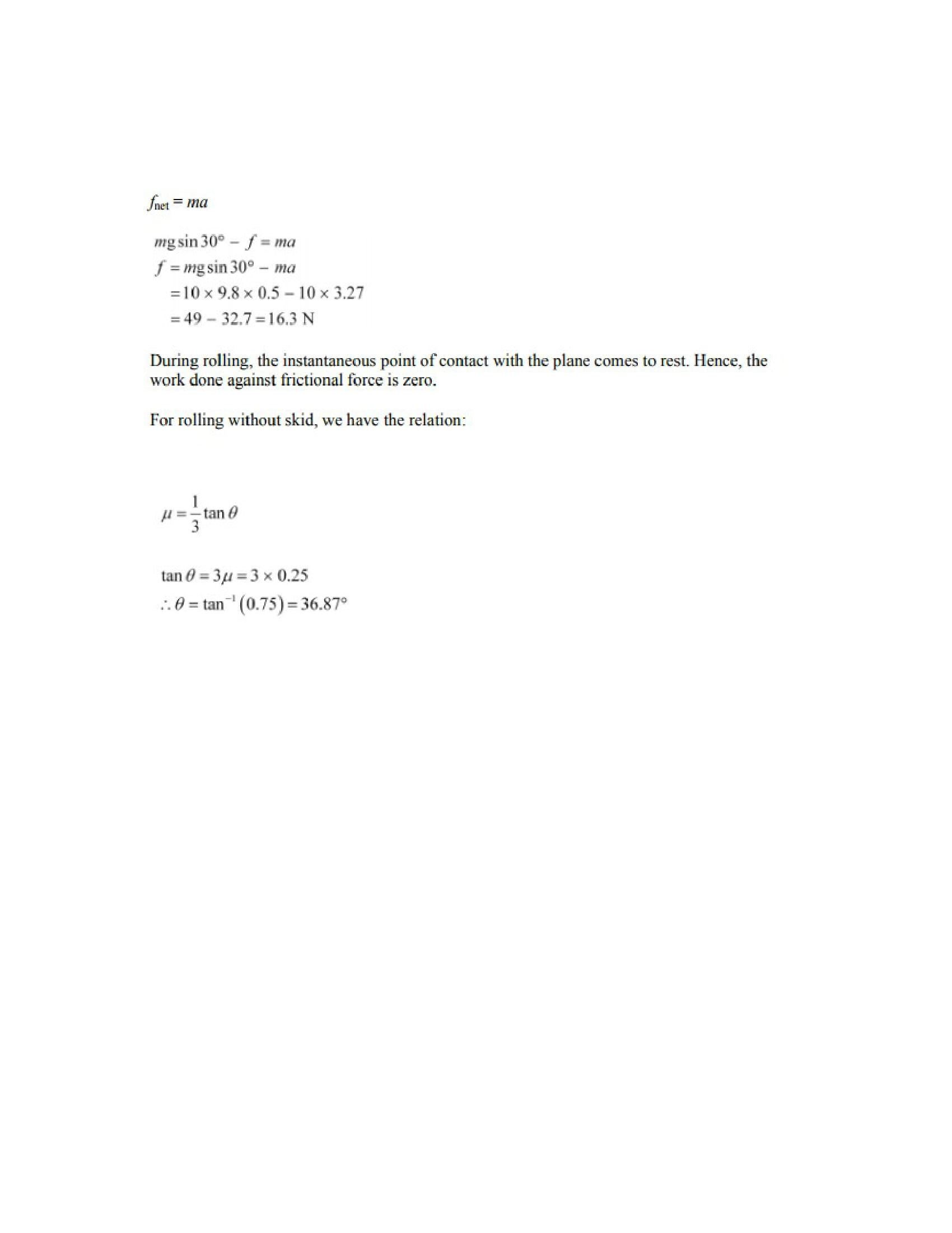 Physics Numericals Class 11 Chapter 7 54