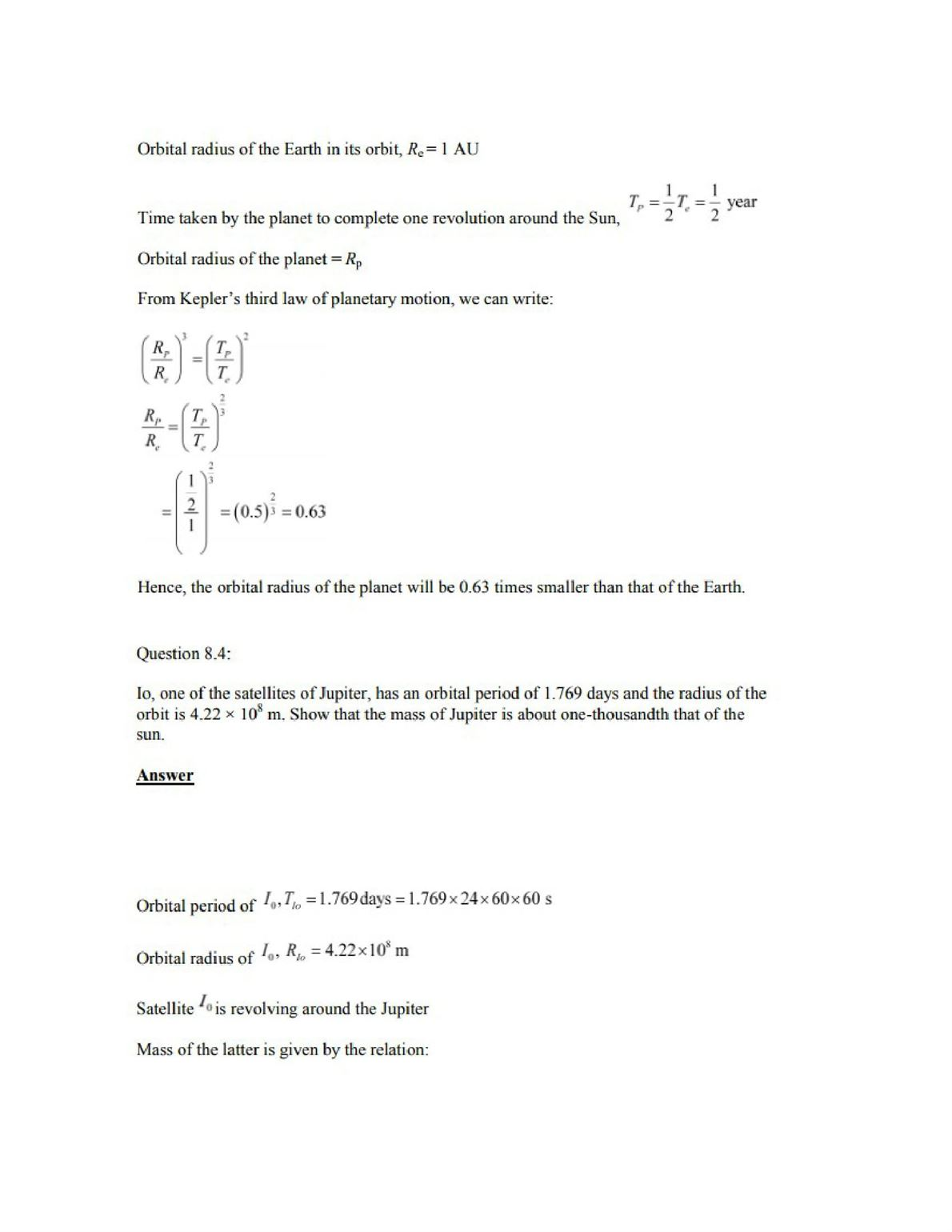 Physics Numericals Class 11 Chapter 8 5