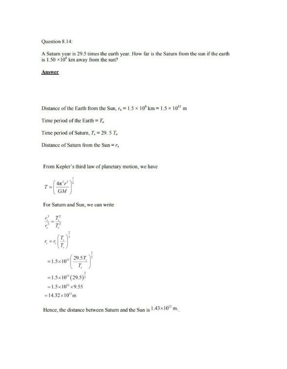 Physics Numericals Class 11 Chapter 8 15