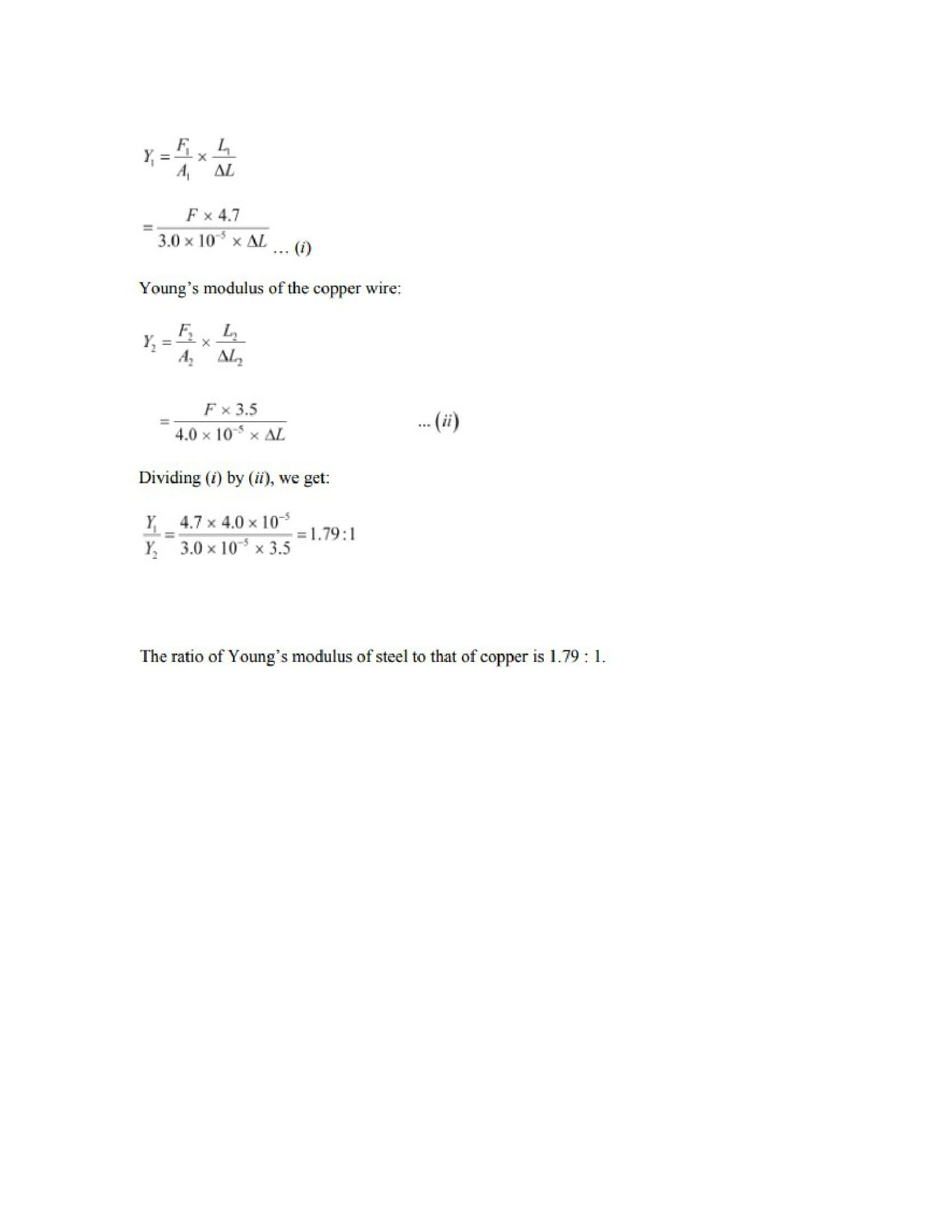 Physics Numericals Class 11 Chapter 9 2width=