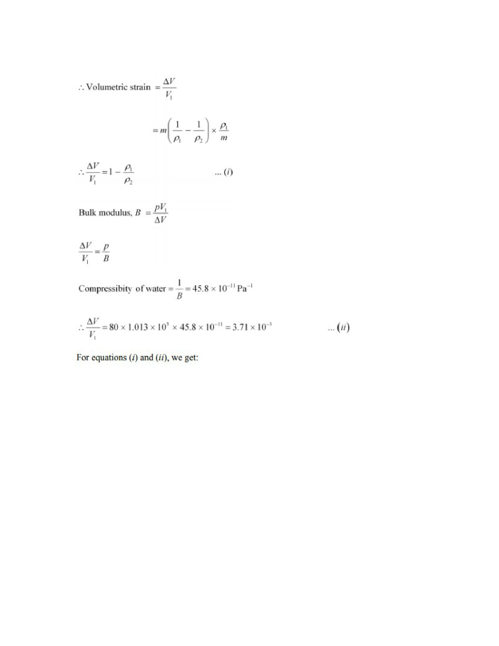 Physics Numericals Class 11 Chapter 9 17width=