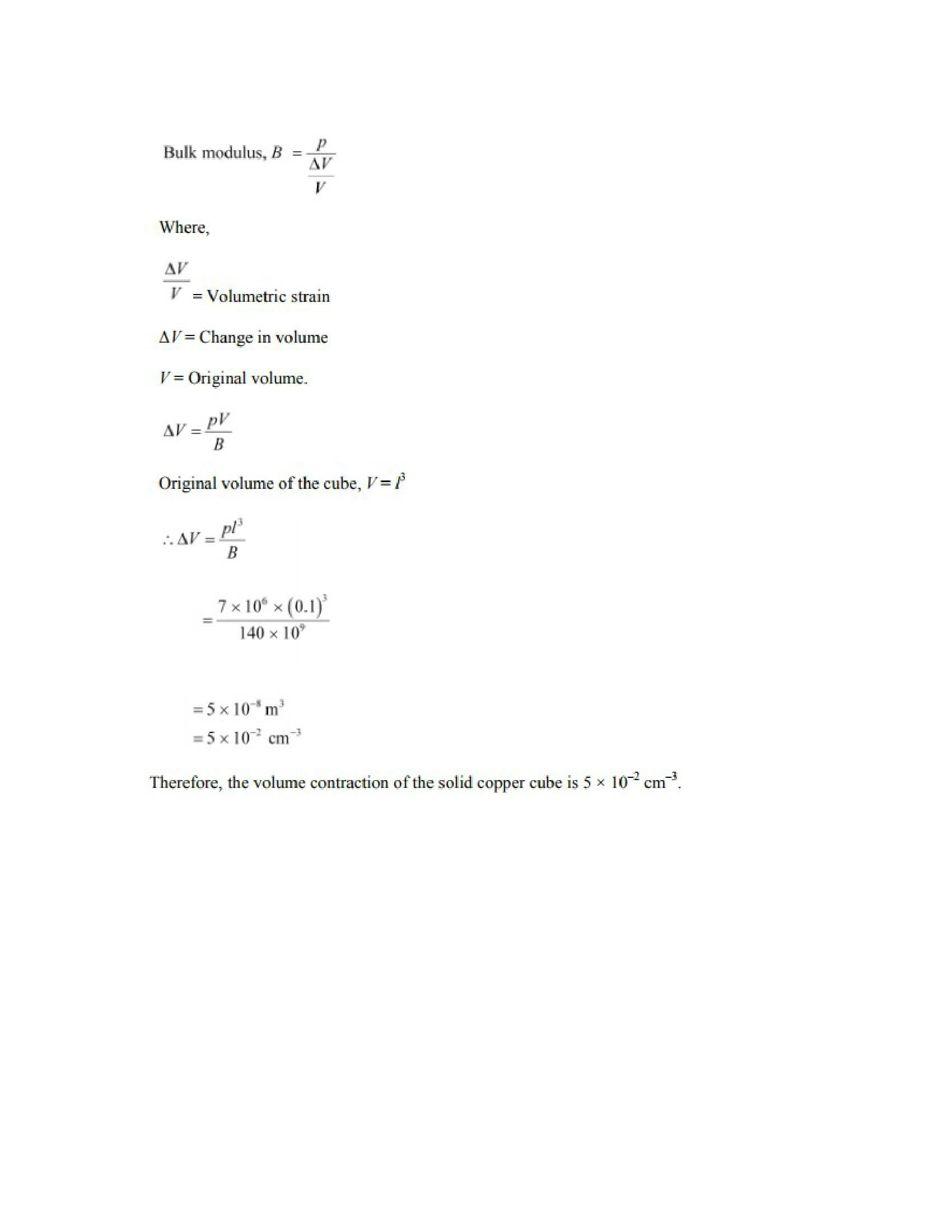 Physics Numericals Class 11 Chapter 9 20width=