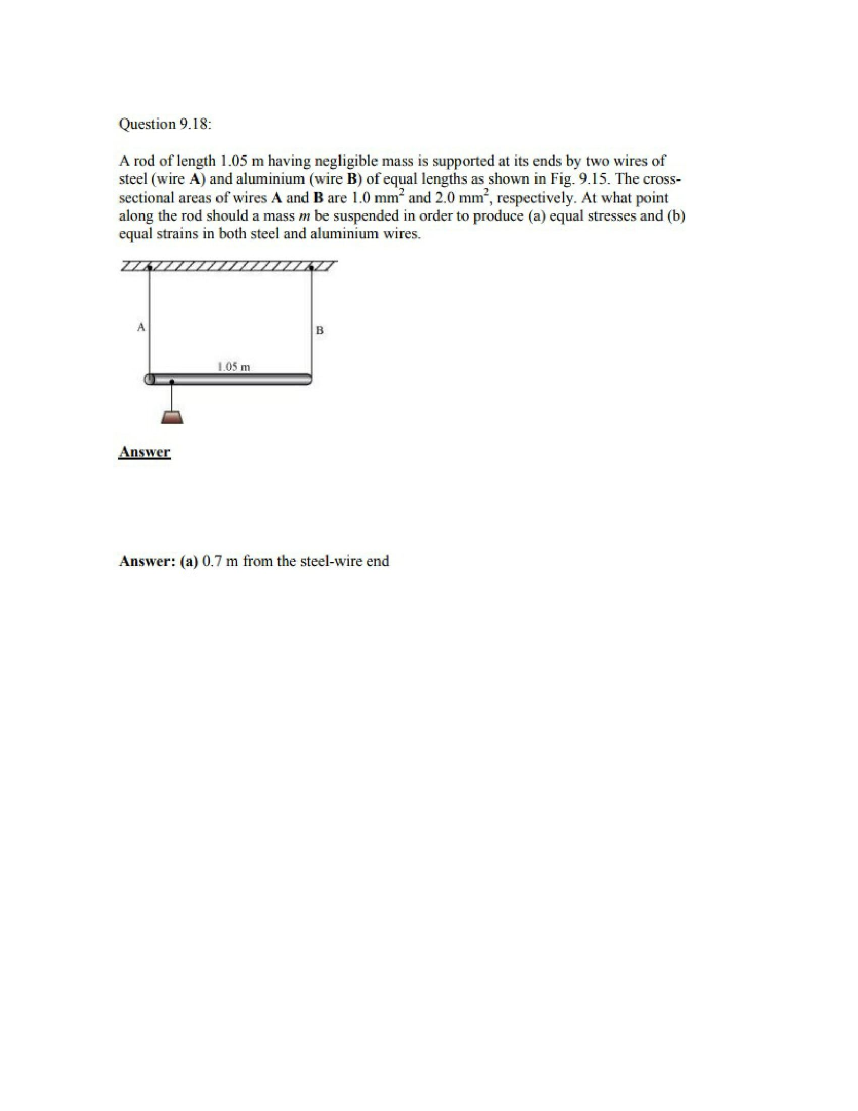 Physics Numericals Class 11 Chapter 9 23width=