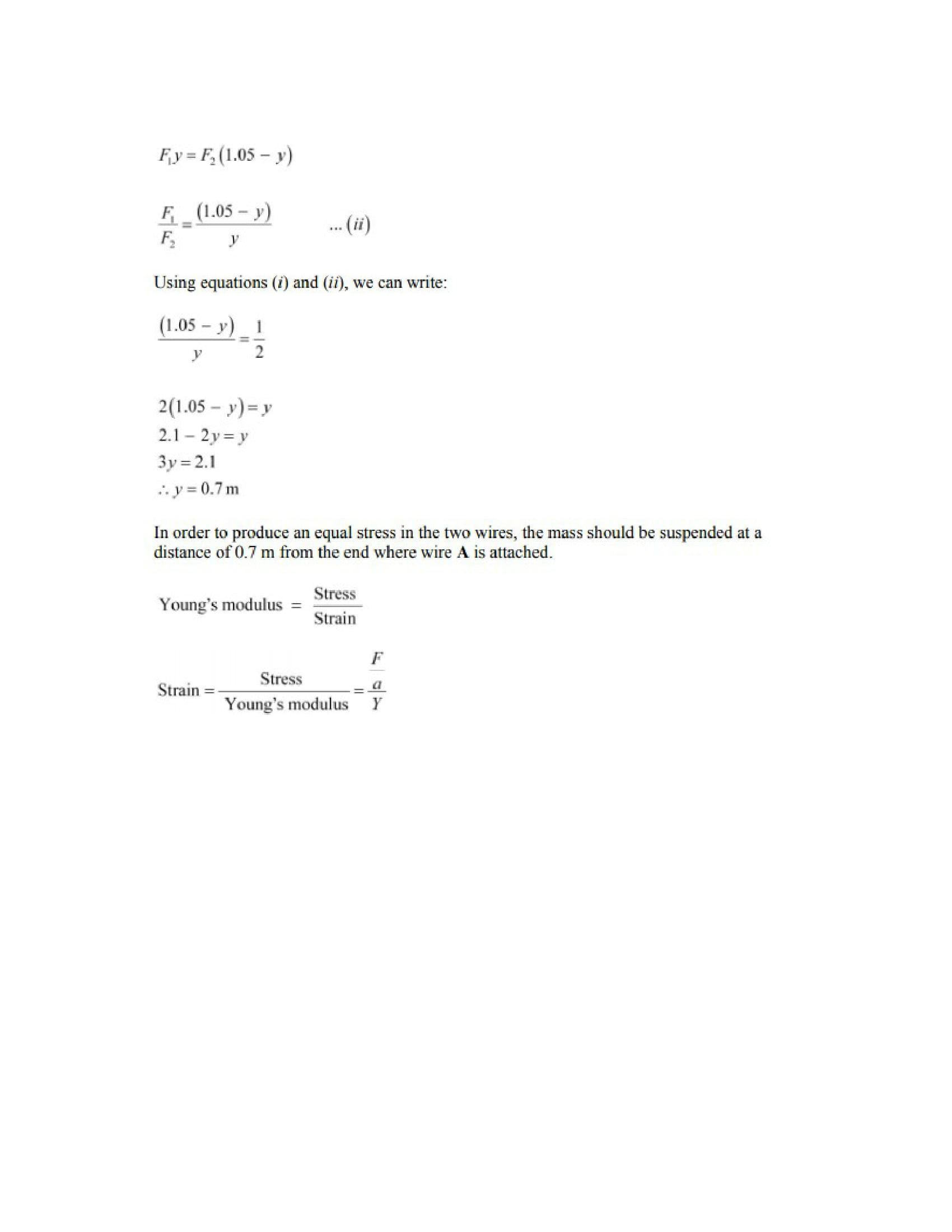 Physics Numericals Class 11 Chapter 9 25width=