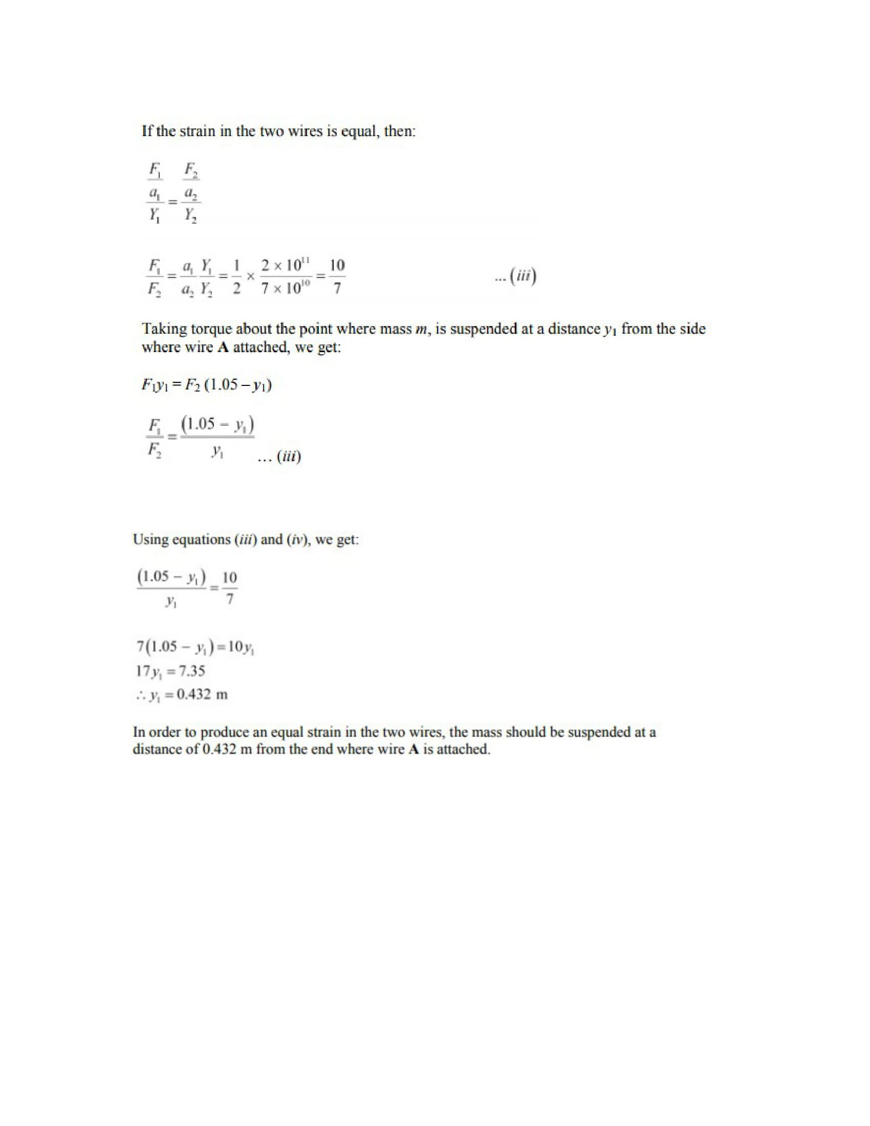 Physics Numericals Class 11 Chapter 9 26width=