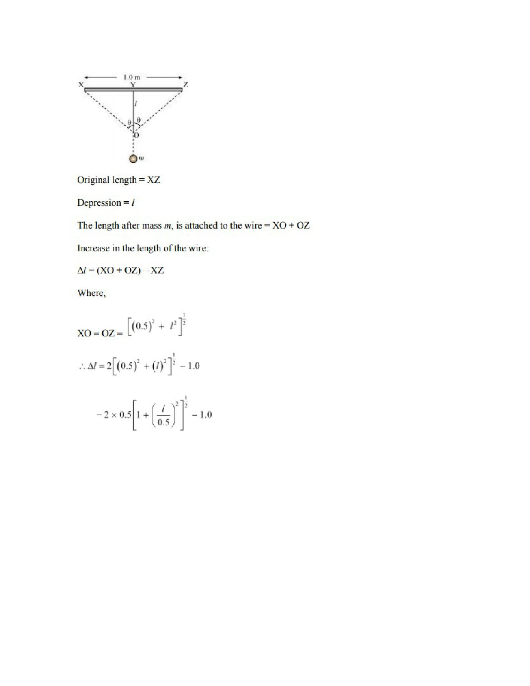 Physics Numericals Class 11 Chapter 9 28width=