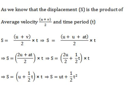 Derivation Of Equation Of Motion