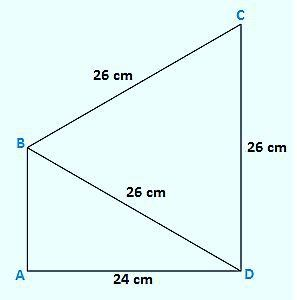 Find the area of the quadrilateral