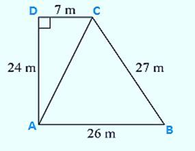 The sides of a quadrilateral field