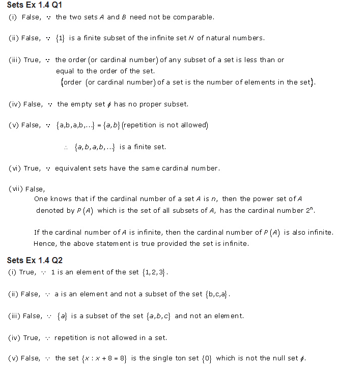 RD Sharma Class 11 Solutions Maths Chapter 1 Sets Exercise 1 4