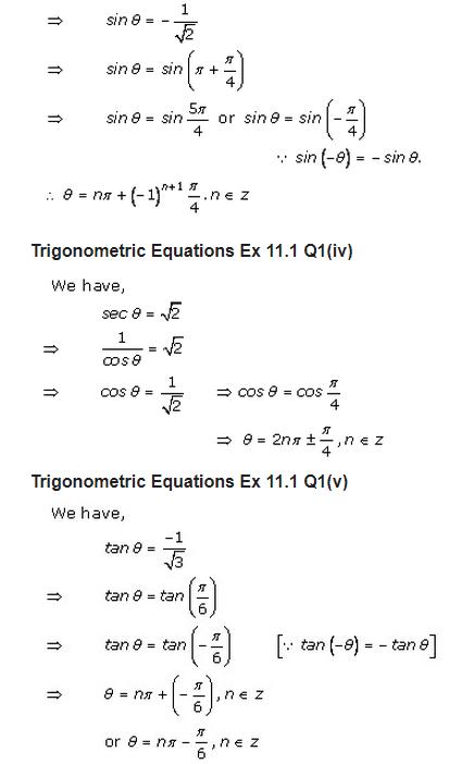 RD Sharma Class 11 Solutions Maths Chapter 11 Trigonometric