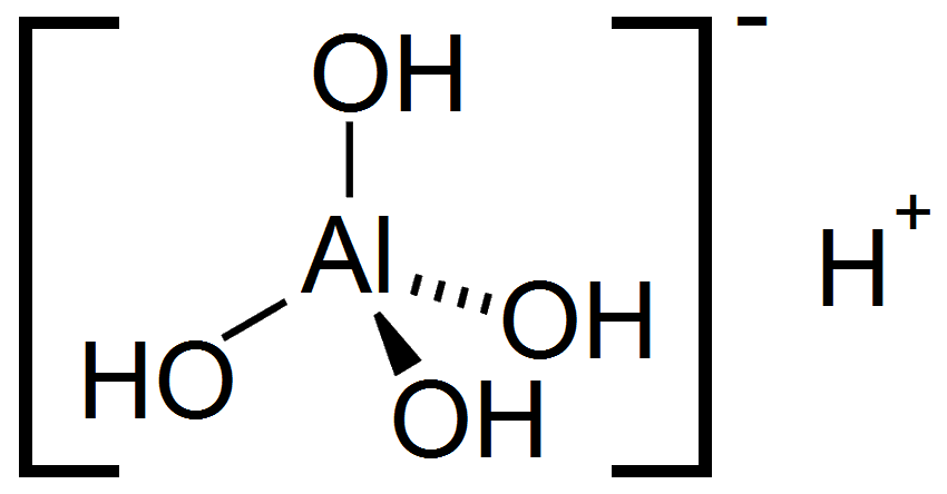 Aluminium Hydroxide Structural Formula