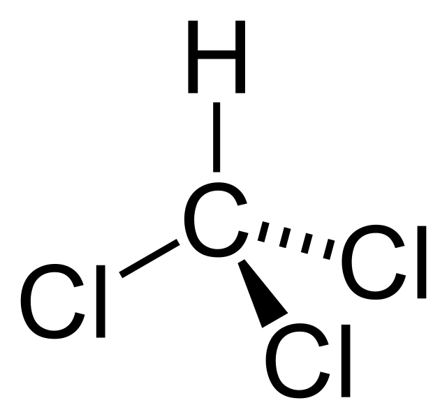 Chloroform Structural Formula