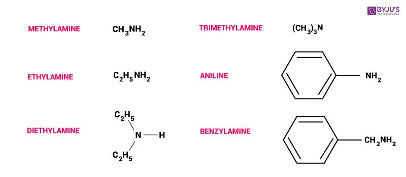 Amine - Formula, Structure, Uses, Nomenclature, Preparation