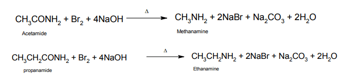Hoffmann Bromamide Reaction Mechanism