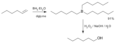 Hydroboration Step