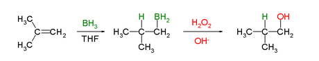 Hydroboration Oxidation Reaction