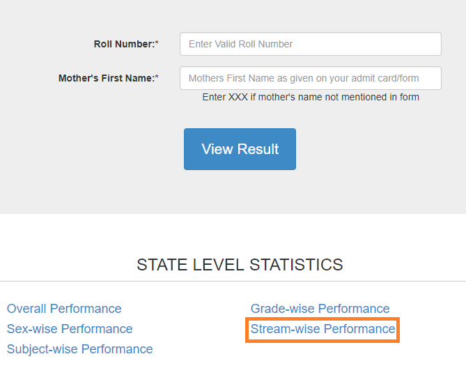 To check the Maharashtra HSC result school wise