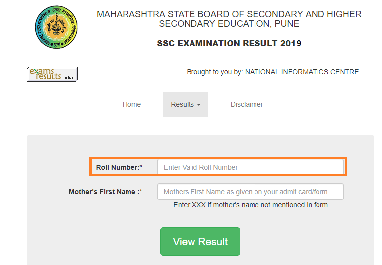 How to Check Maharashtra SSC Result 2019