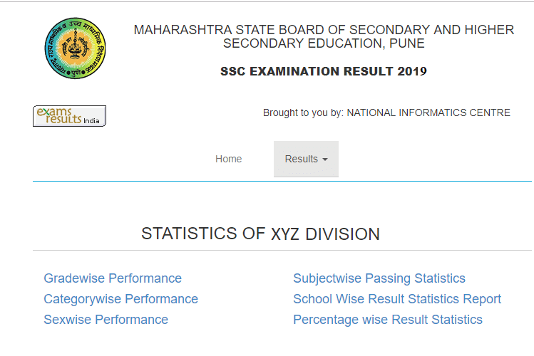 To check the Maharashtra SSC result school wise