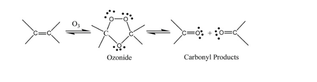Ozonolysis Reaction