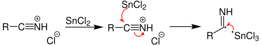Stephen Reaction Mechanism