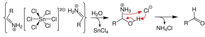 Stephen Reaction Mechanism