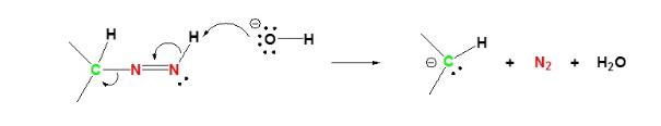 Wolff Kishner Reduction Mechanism