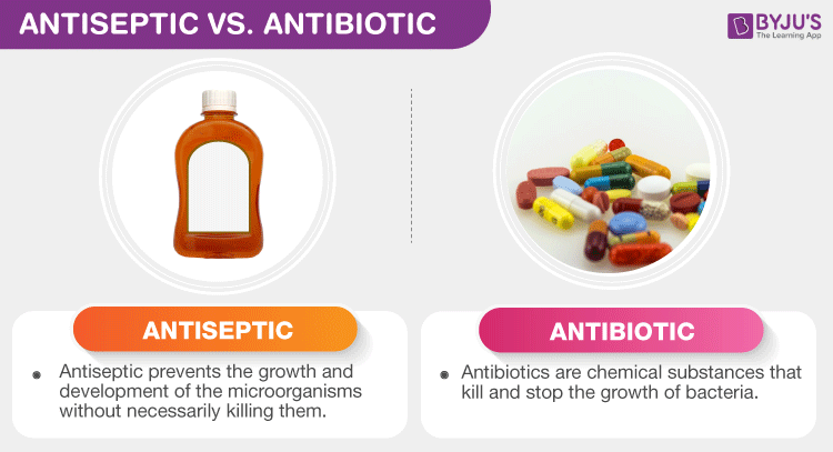 Difference Between Antiseptic And Antibiotic